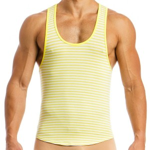 Men's tanktop 06831_yellow