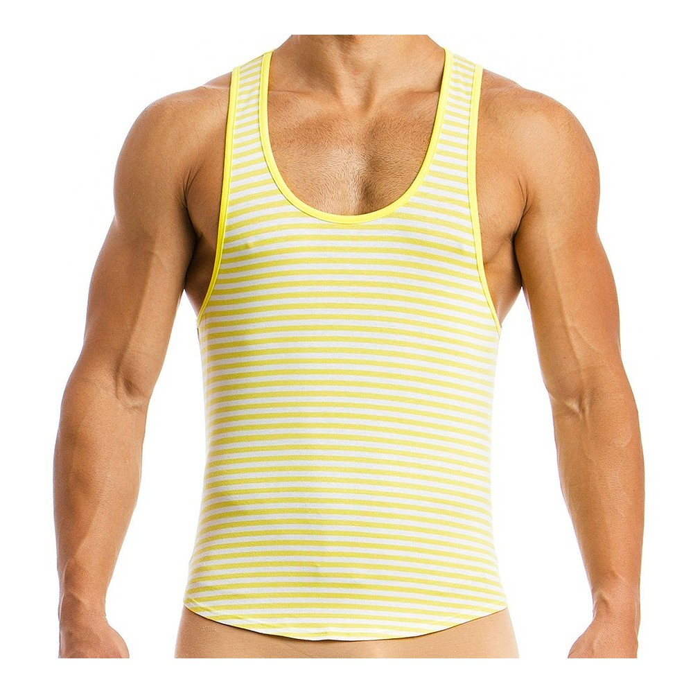 Men's tanktop 06831_yellow