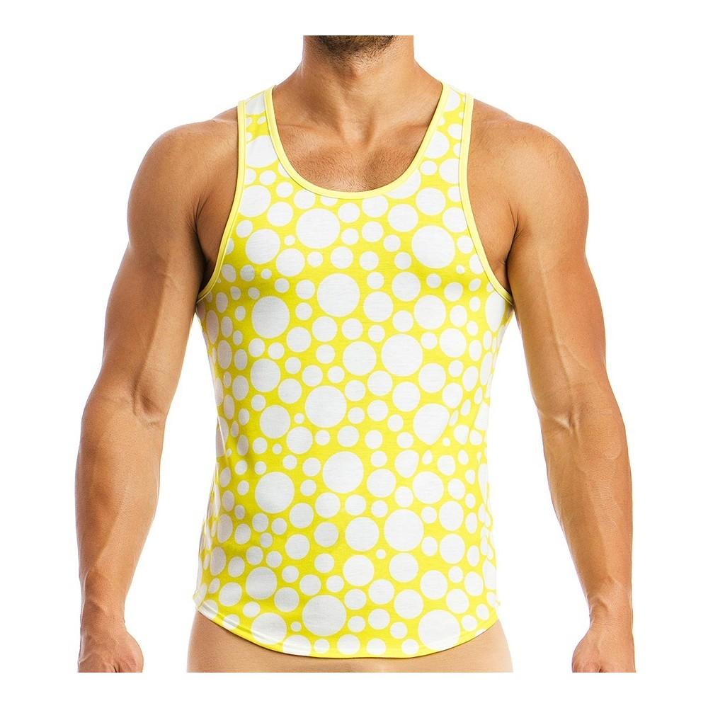 Men's tanktop 08831_yellow