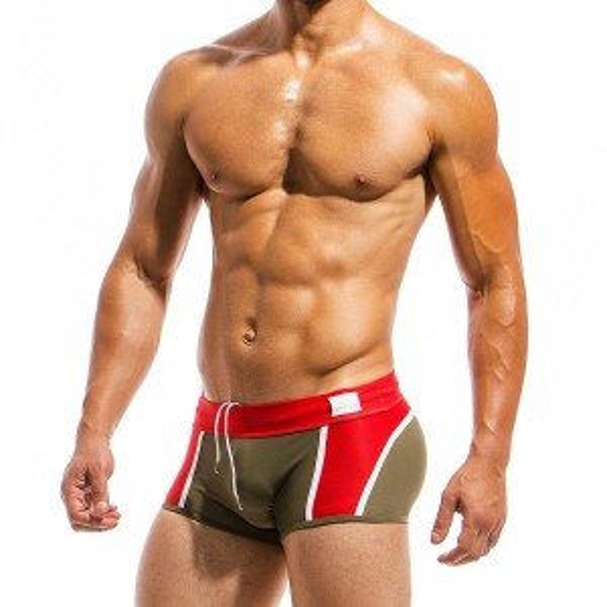Mens swimwear JS1821_khaki