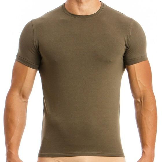 Ανδρικό T-shirt χακί 02841_khaki