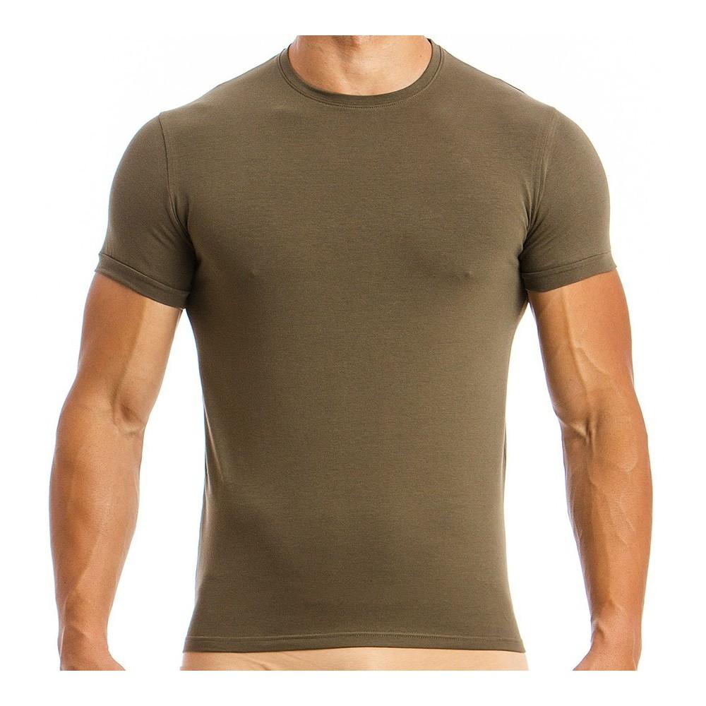 Men's T-shirt 02841_khaki