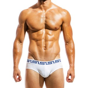 Men's swimwear brief DS1811_white