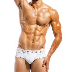 Men's swimwear brief BS1811_white