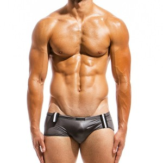 Mens swimwear boxer AS1821_grey / S18