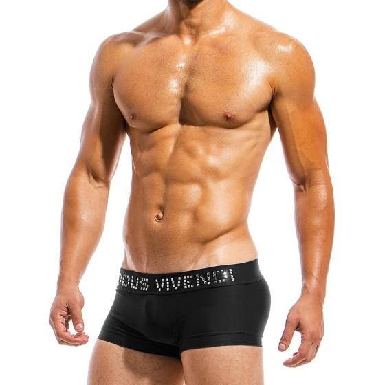 Ανδρικό μαγιό Boxer μαύρο BS1821_black