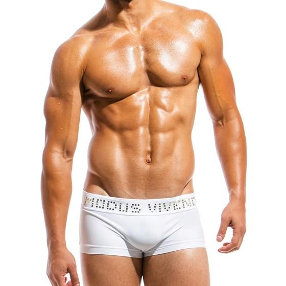 Ανδρικό μαγιό Boxer λευκό BS1821_white