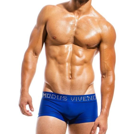 Ανδρικό μαγιό Boxer μπλε BS1821_blue
