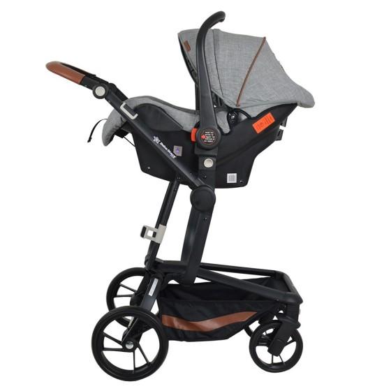 Baby Stroller  TORRO 3 σε 1 Grey 360T-188