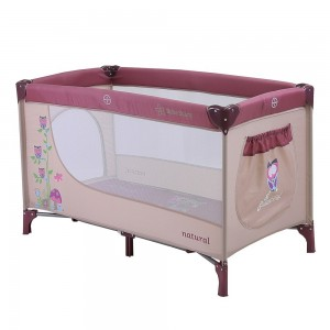 Baby Cot Natural Purple 889-185