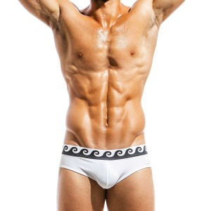 Men's swimwear brief FS1811_white
