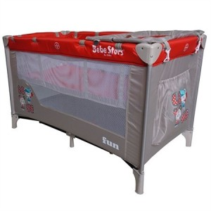 Baby Cot  Fun Red 809-180