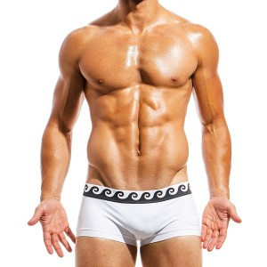 Mens swimwear Boxer FS1821_white