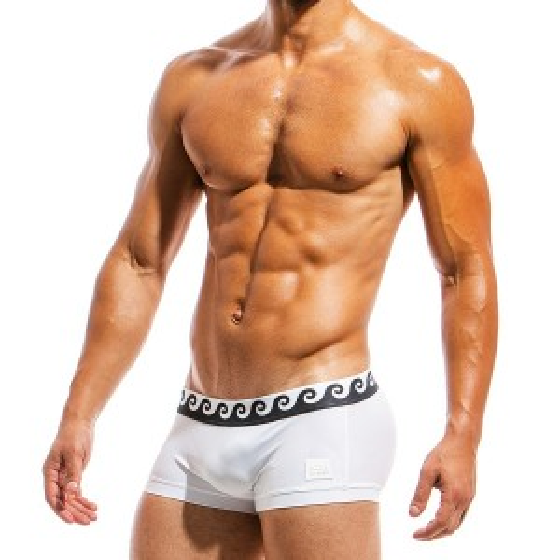 Ανδρικό μαγιό Boxer λευκό FS1821_white