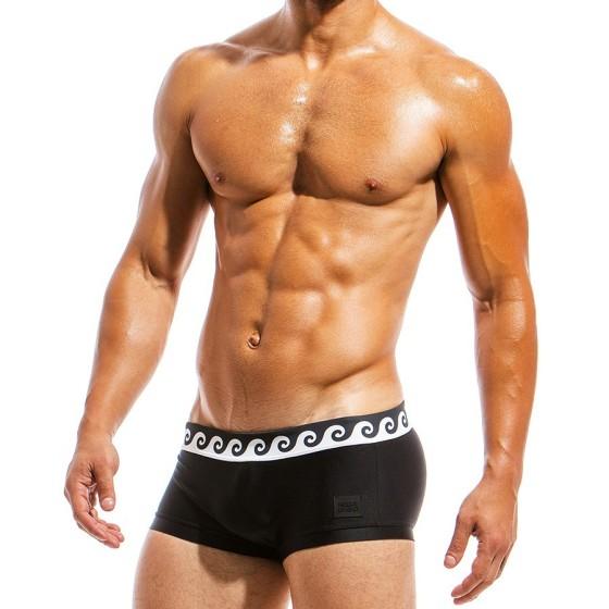 Ανδρικό μαγιό Boxer μαύρο FS1821_black