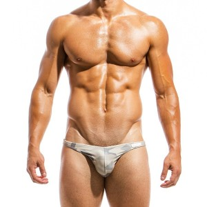 Men's swimwear low cut brief GS1812_sand