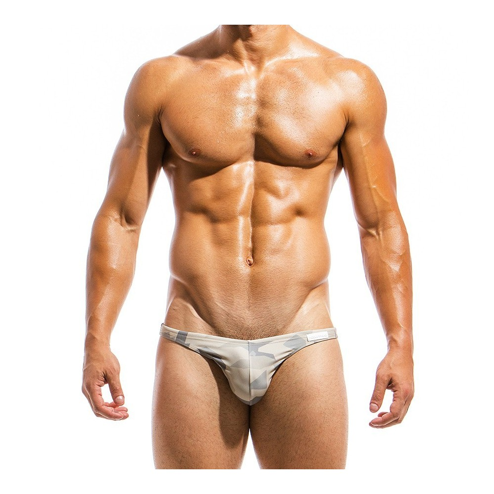 Men's swimwear low cut brief GS1812_sand