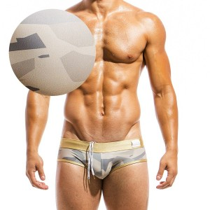Men's swimwear brief GS1811_sand
