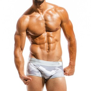 Mens swimwear boxer GS1821_grey