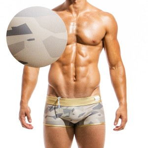 Mens swimwear boxer GS1821_sand