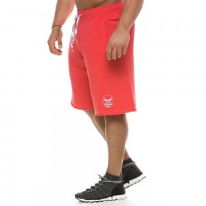 MEN'S TRAINING SHORTS 2139_coral