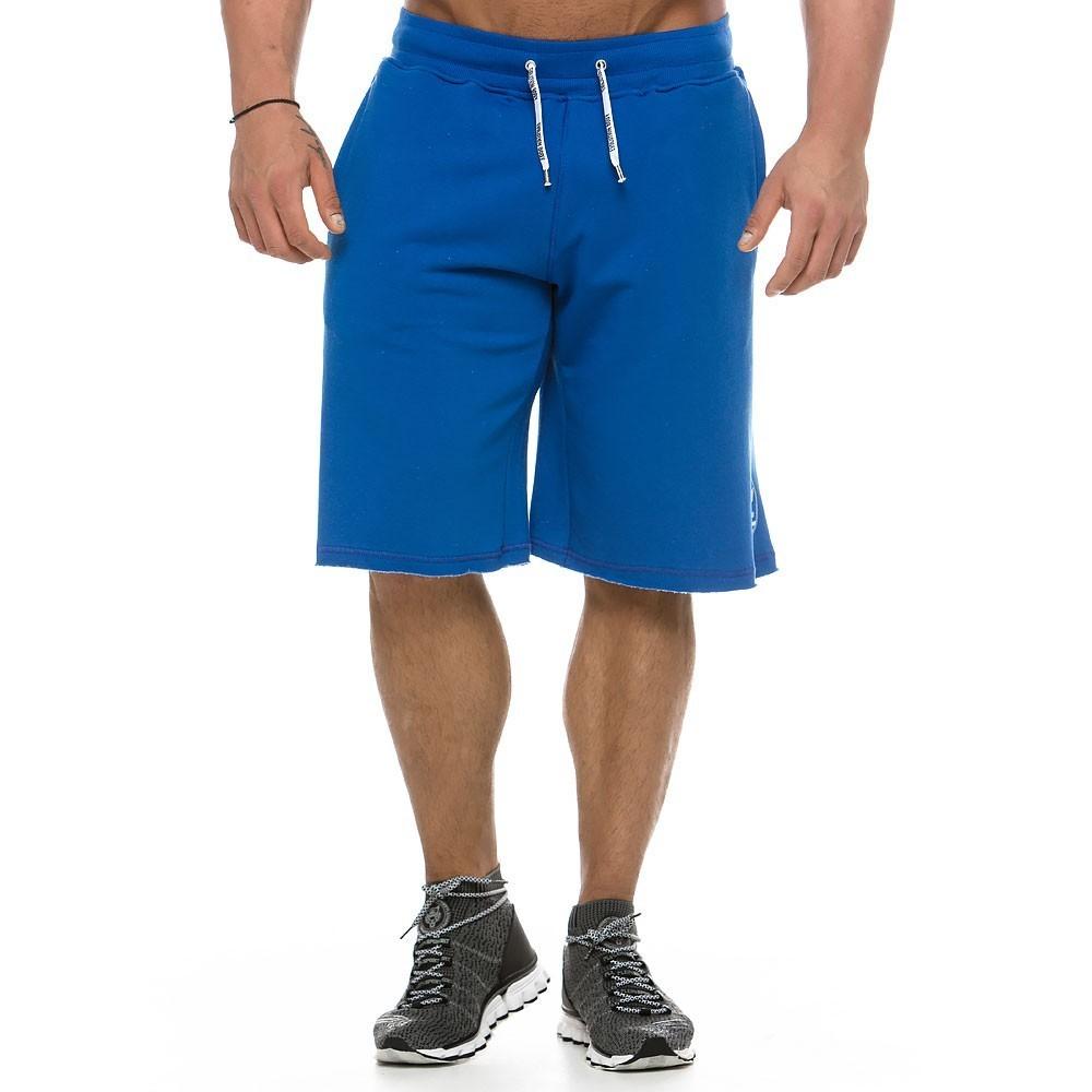 Ανδρική αθλητική  βερμούδα μπλε 2139_blue