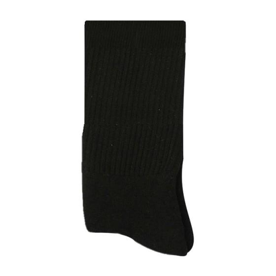 Ανδρική αθλητική κάλτσα βαμβακερή μαύρη - 2101-6000-1_BL