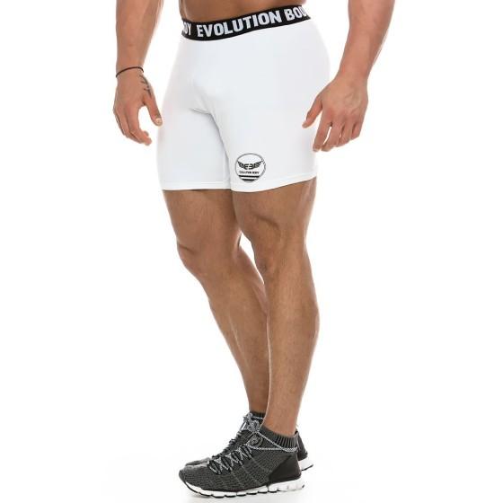 MEN'S DRI-FIT TIGHT SHORTS 2159_white