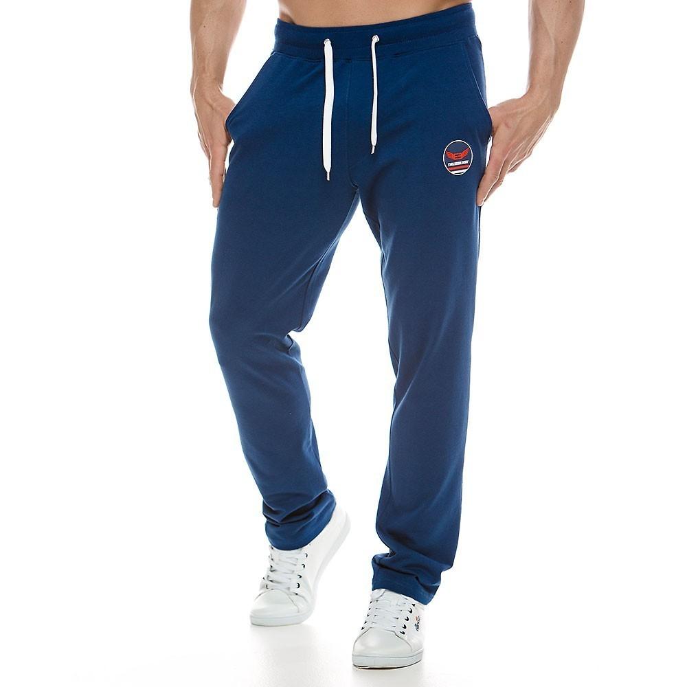 Ανδρικό παντελόνι φόρμας μπλε 2119_blue