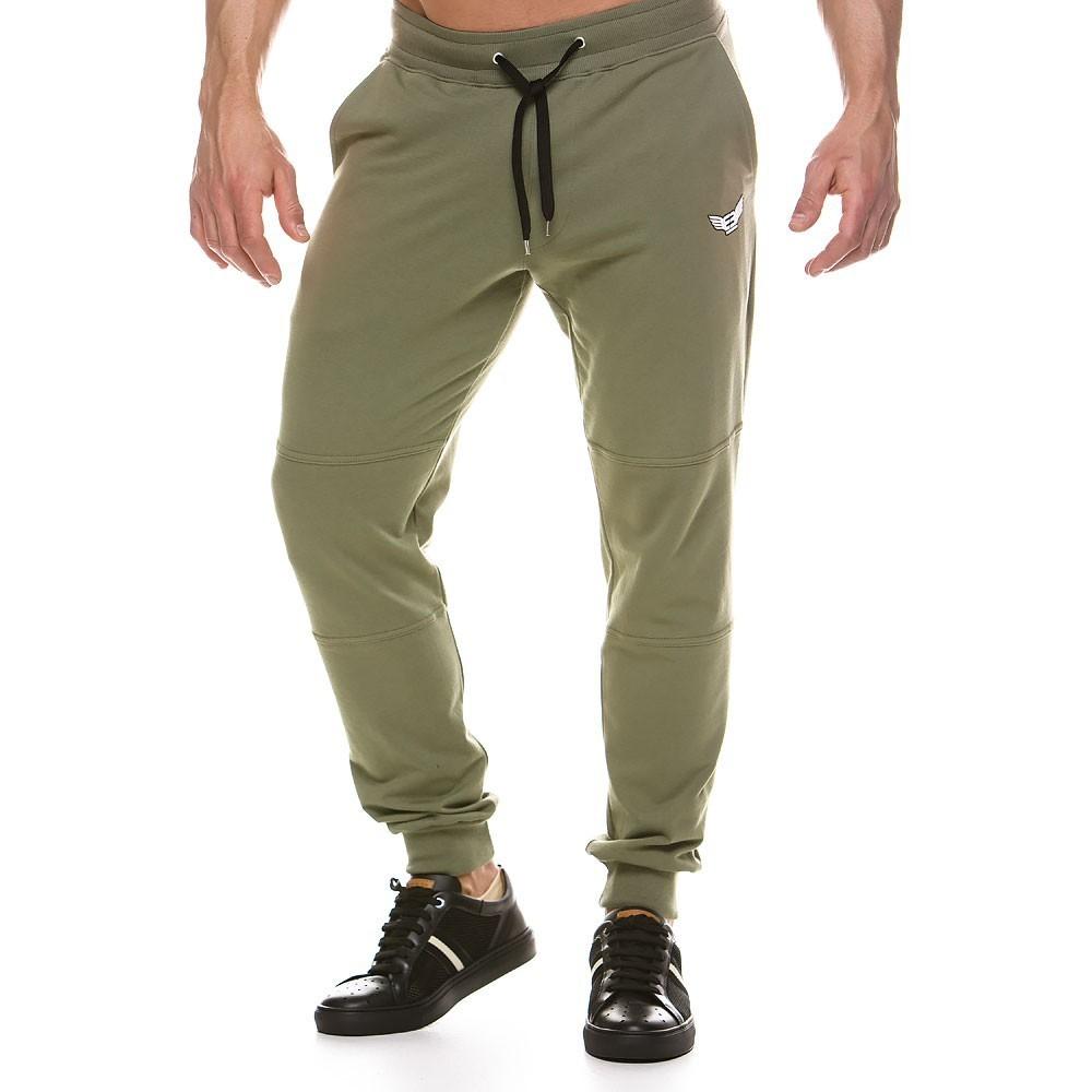 Ανδρικό παντελόνι φόρμας χακί 2144_chaki
