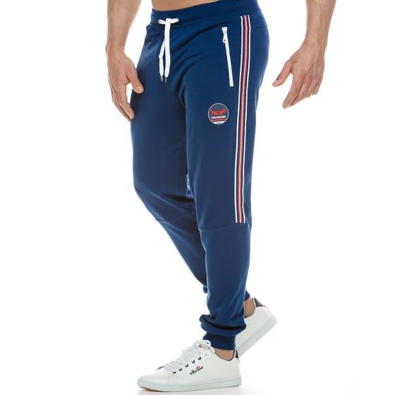 Ανδρικό παντελόνι φόρμας μπλε 2121_blue