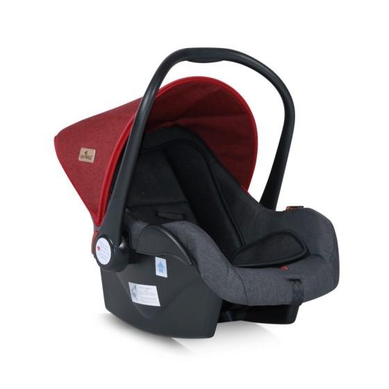 Κάθισμα Αυτοκινήτου με ποδόσακο LIFESAVER  Black&Red