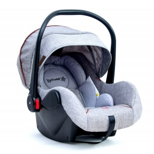 Baby Car Seat  Baby Plus Grey 007-188