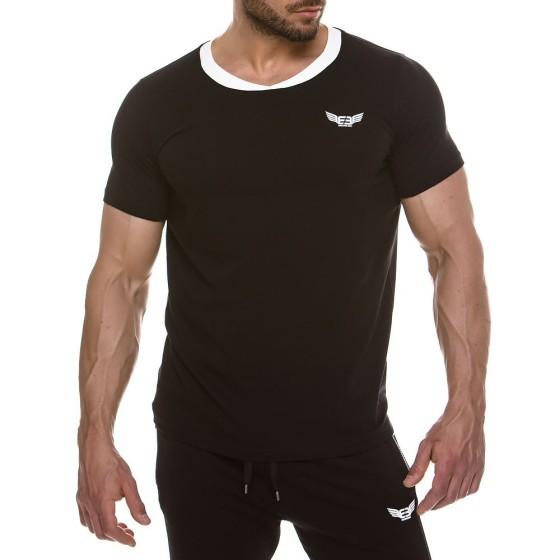Ανδρικό t-shirt μαύρο 2143_black