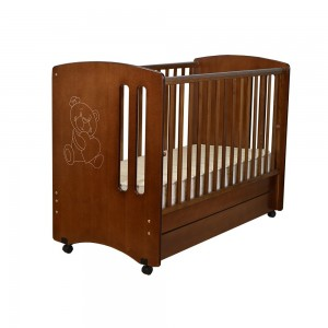 Baby Bed  Pretty- Walnut 405