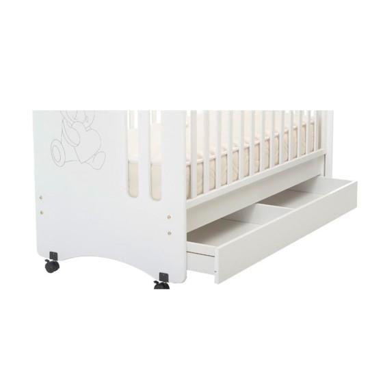 Βρεφική Κούνια Μωρού Pretty- Καρυδί 405