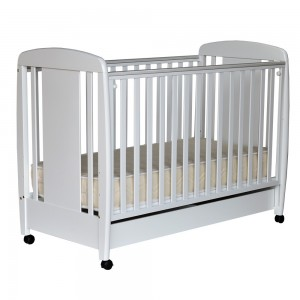 Baby Bed Prestige White 416-02