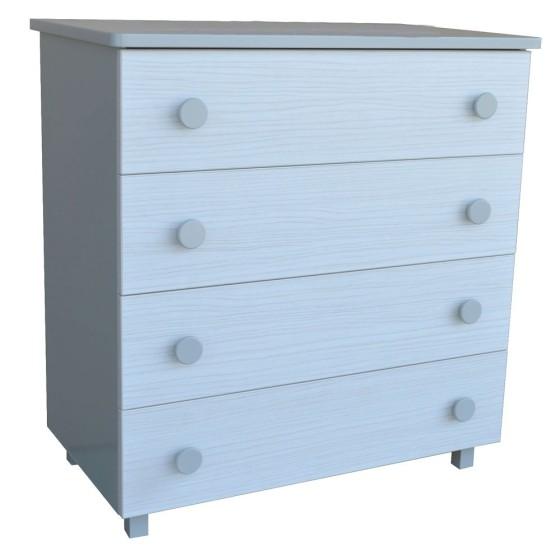 Παιδική συρταριέρα Harmony Grey 423-10