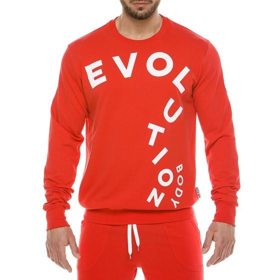 Ανδρική αθλητική μπλούζα κόκκινη 2120_red