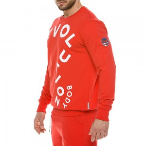 Men's sweatshirt 2120_red