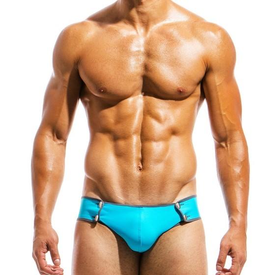 Men's Swimwear brief HS1811_aqua