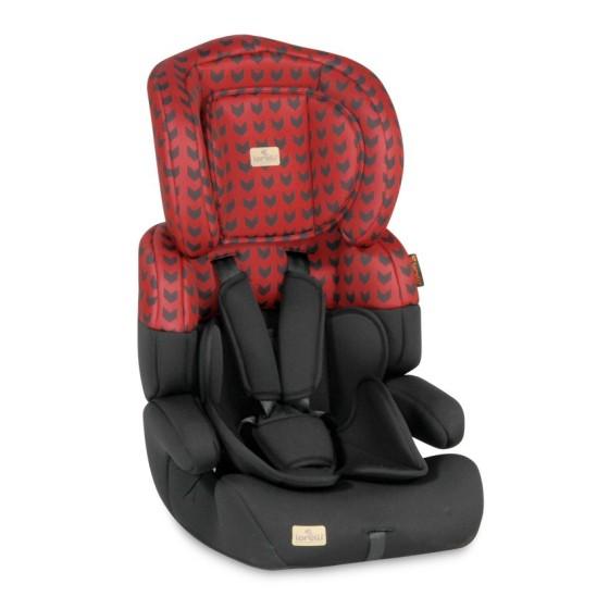 Κάθισμα αυτοκινήτου JUNIOR PLUS Red&Black
