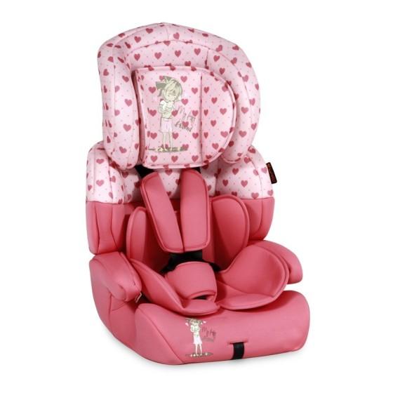 Κάθισμα αυτοκινήτου JUNIOR PLUS Pink Girl