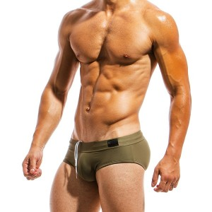 Men's Swimwear brief MS1811_chaki