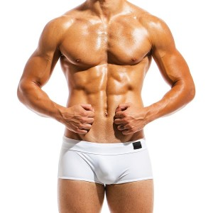 Men's swimwear Brazil Cut boxer MS1821_white