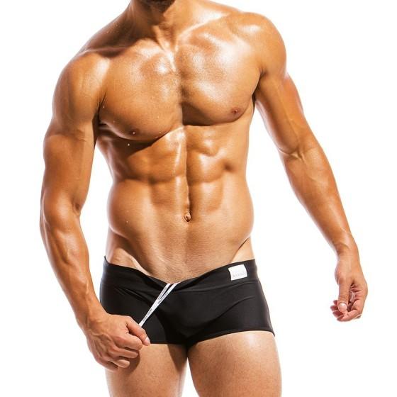 Ανδρικό μαγιό Brazil Cut Boxer μαύρο ΜS1821_black
