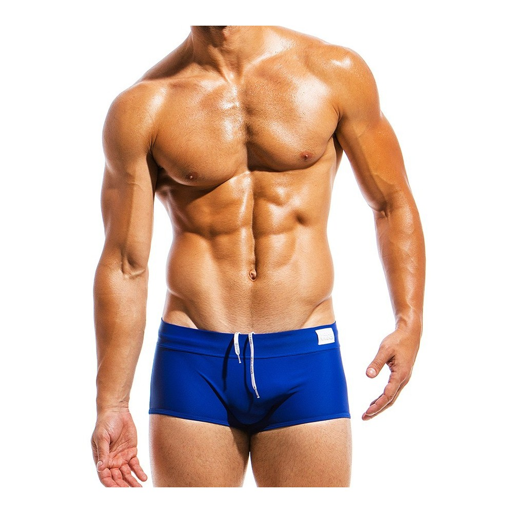 Ανδρικό μαγιό Brazil Cut Boxer μπλε ΜS1821_blue