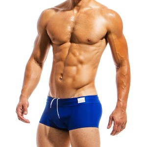 Men's swimwear Brazil Cut boxer MS1821_blue