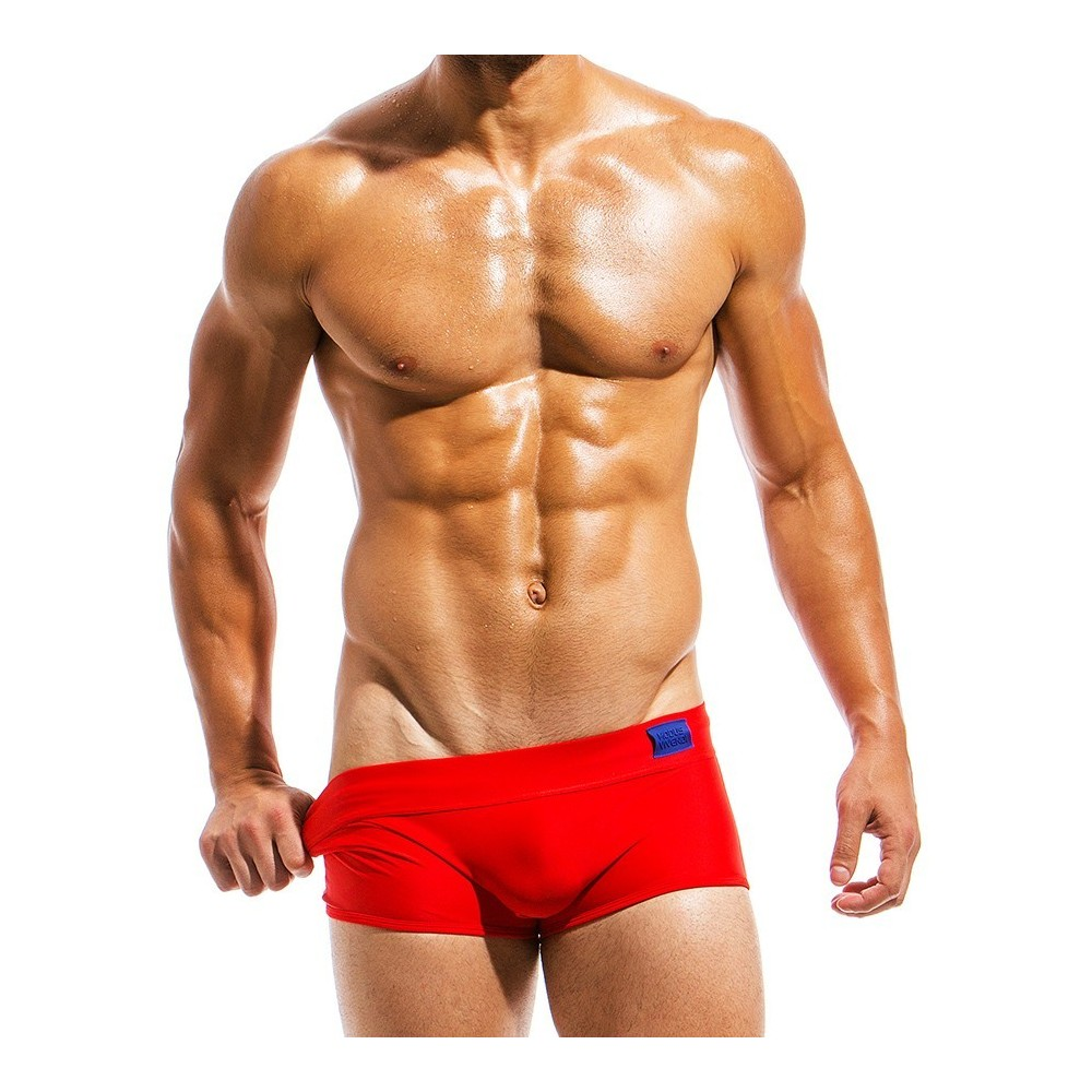 Ανδρικό μαγιό Brazil Cut Boxer κόκκινο ΜS1821_red
