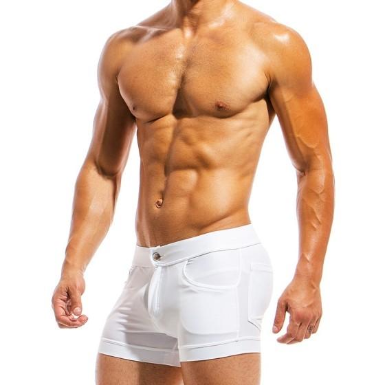 Ανδρικό μαγιό σορτς λευκό MS1831_white
